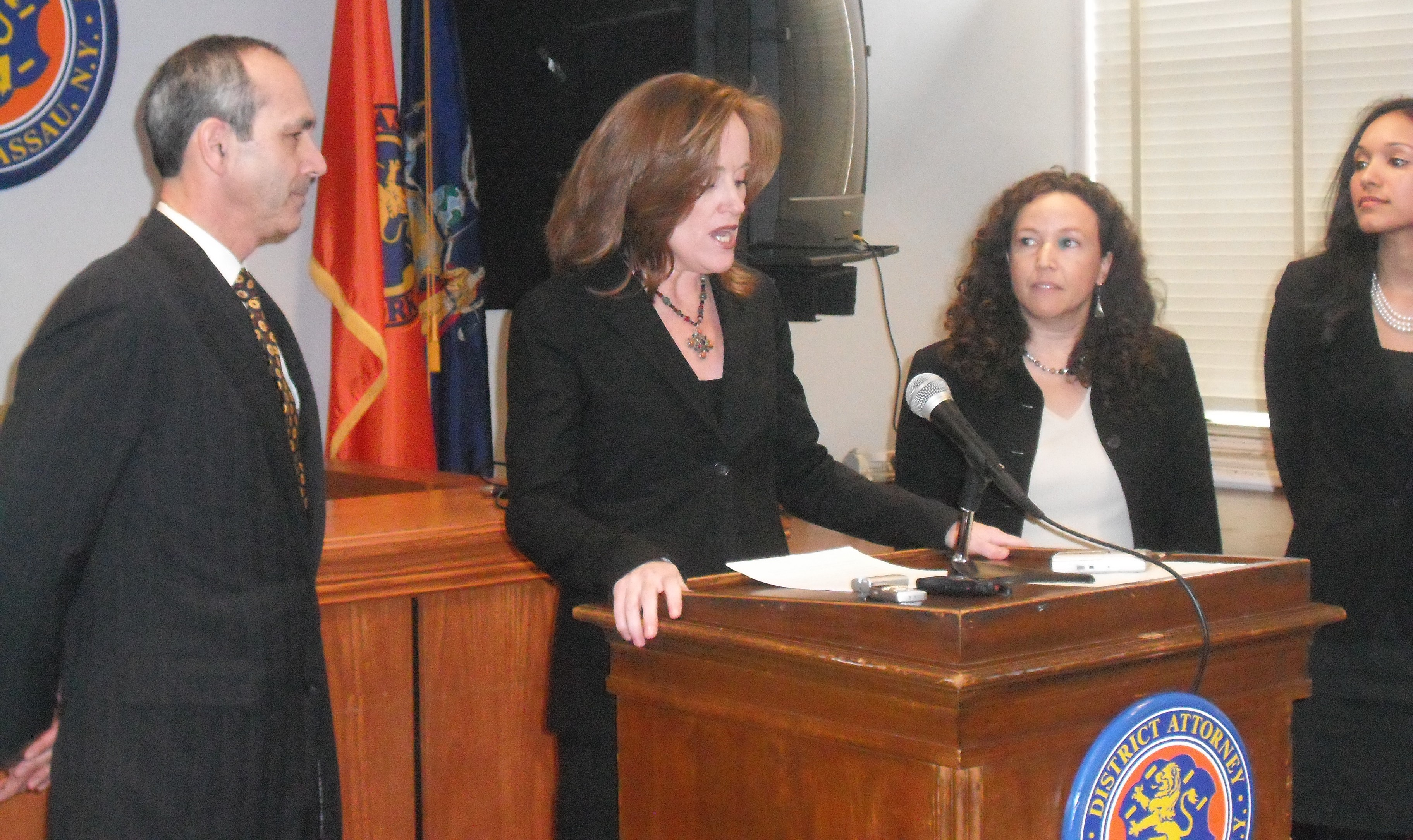 District Attorney Kathleen Rice