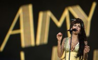 FILE - In this July 4, 2008 file photo, singer Amy Winehouse of England performs during the Rock in Rio music festival in Arganda del Rey, on the outskirts of Madrid. British police say singer Amy Winehouse has been found dead at her home in London on Saturday, July 23, 2011. The singer was 27 years old. (AP Photo/Victor R. Caivano, File)