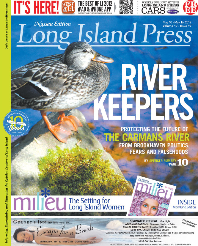 Long Island Press - Cover 19 - River Keepers - Carmens River